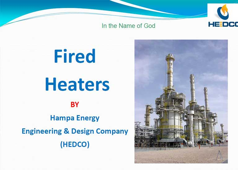 3 - HEDCO - FIRED HEATERS