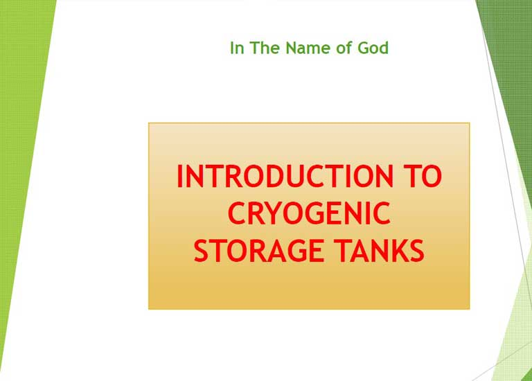 4.CRYOGENIC STORAGE TANK PRESENTATION-